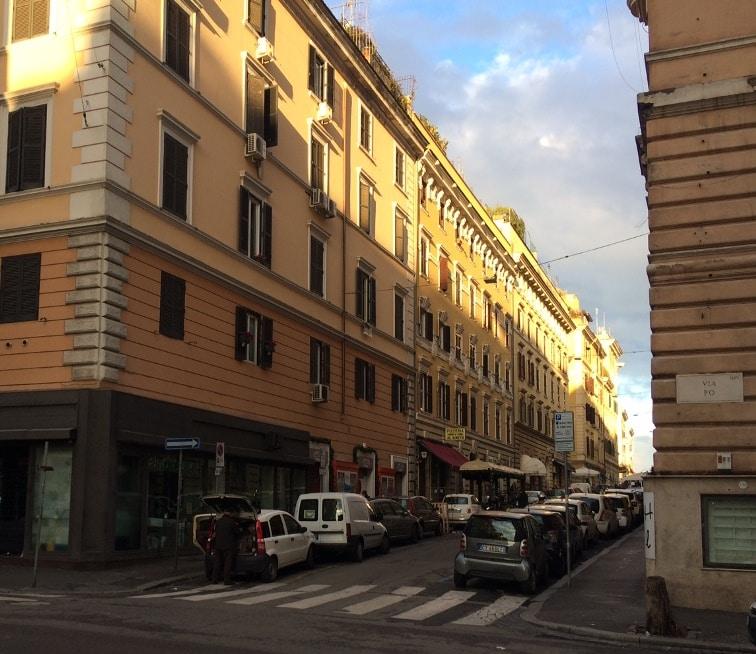 afilador en roma via po