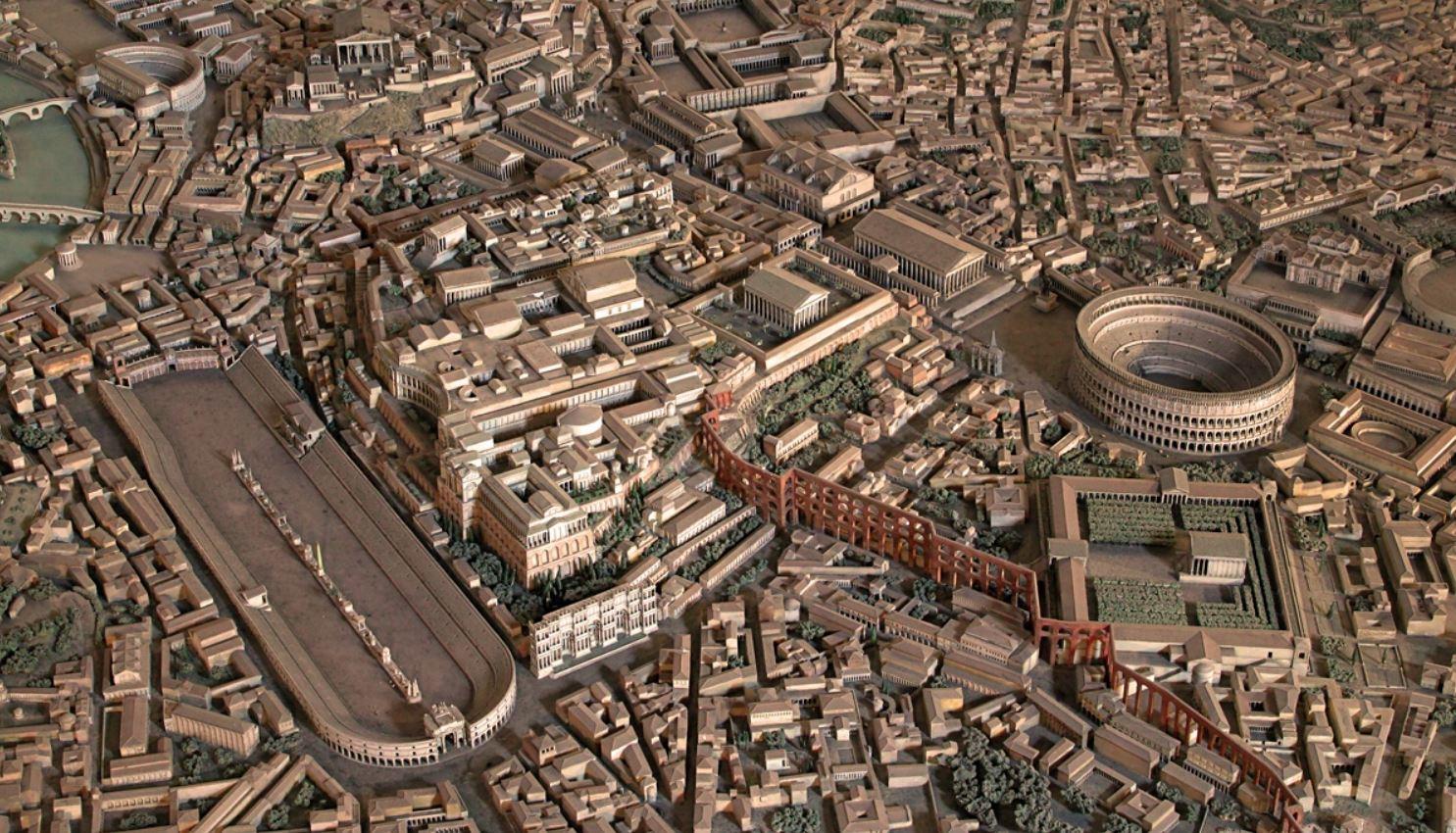 zona coliseo circo maximo palatino foro antigua roma