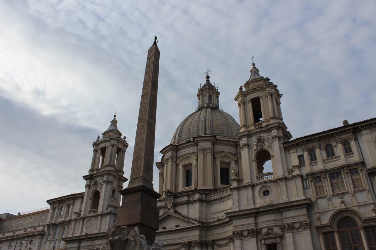 fachada sant'agnese in agone plaza navona