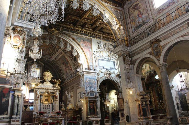 iglesia santa maria en aracoeli altar