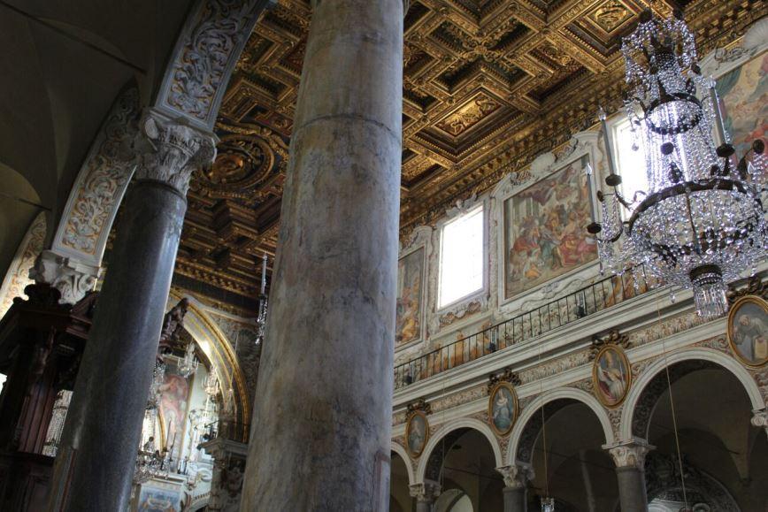 iglesia santa maria en aracoeli interior
