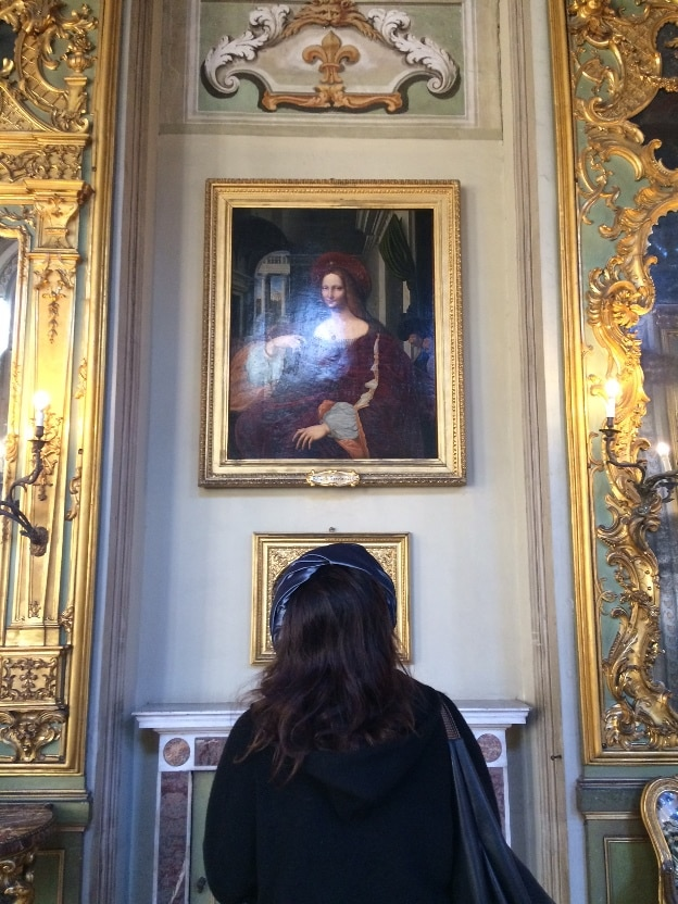 rafael museo doria mujeres en roma