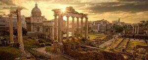 roma antigua foro desde Campidoglio