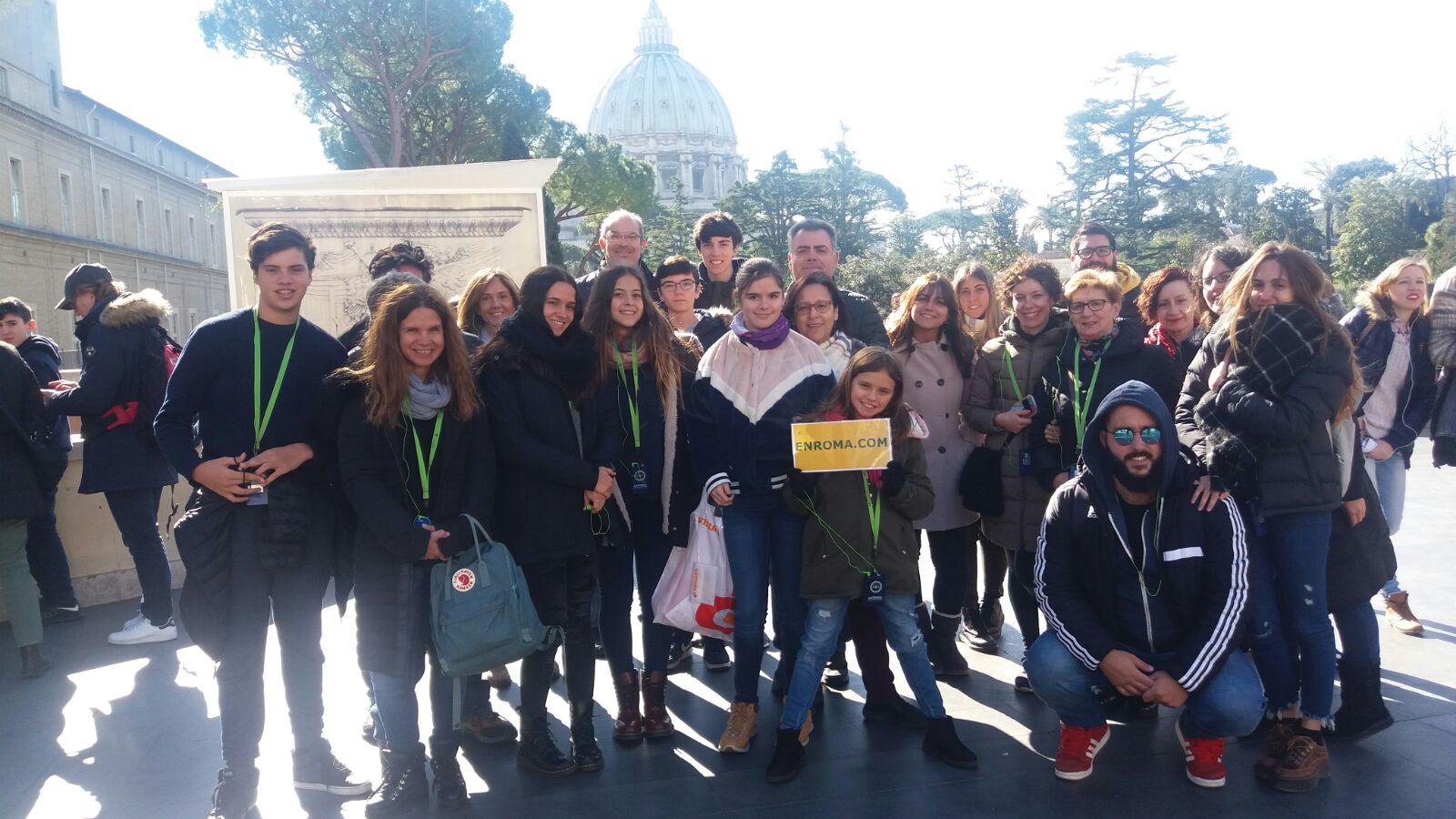 visita guiada vaticano en grupo