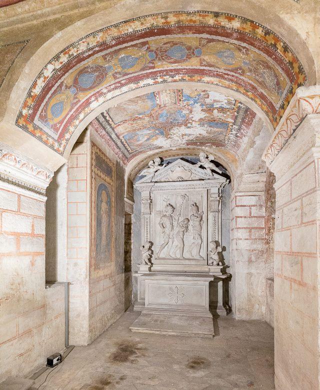 sant'agnese in agone cripta
