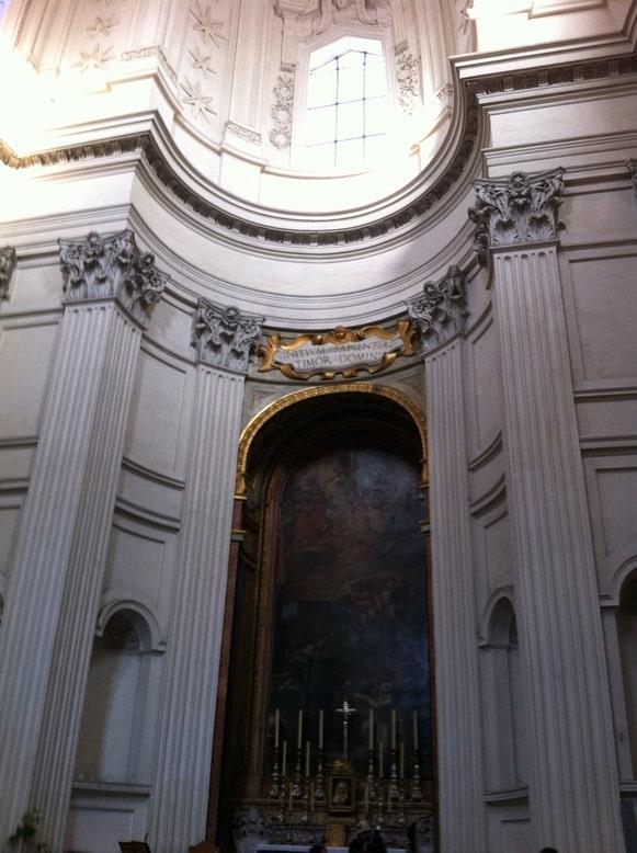 sant ivo alla sapienza roma arquitectura borromini