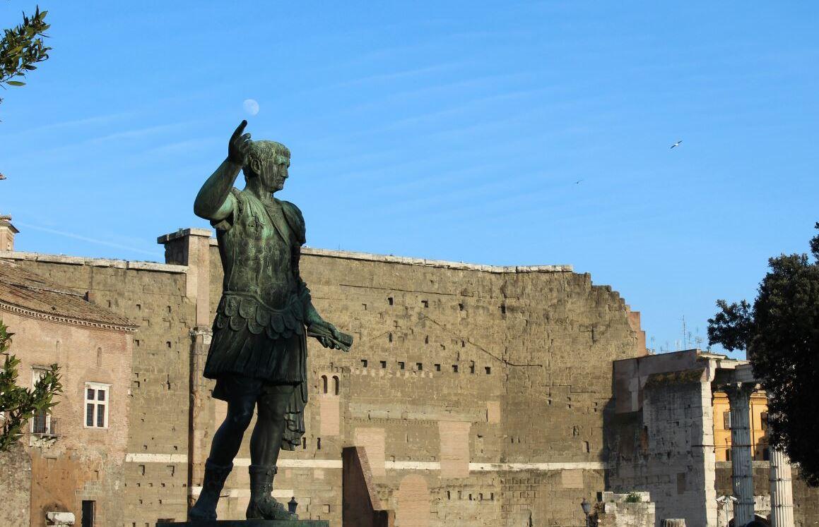 via foros imperiales roma Augusto