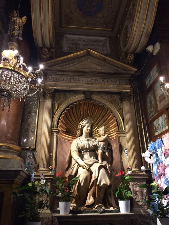 madonna parto sant agostino roma