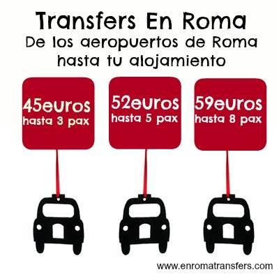traslados en roma transfers
