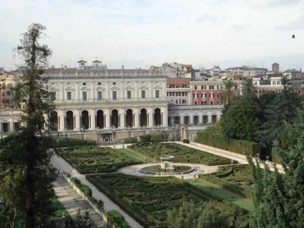 villa albani jardin