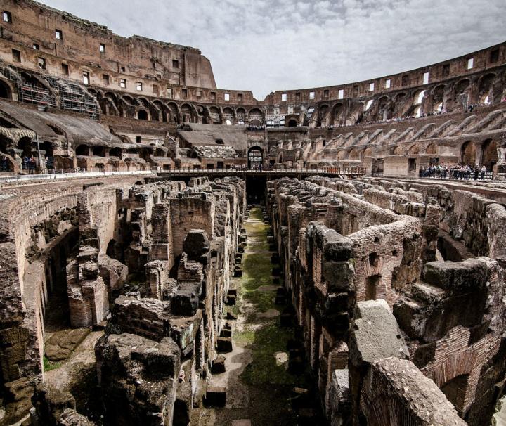 Visita Coliseo subterráneo, Arena, Foro y Palatino