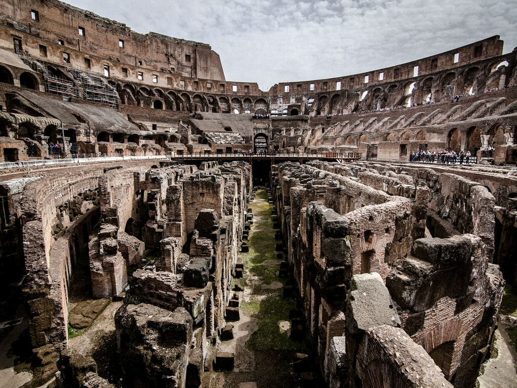 Tour Coliseo con Subterráneos