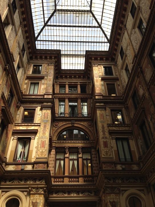Galeria Sciarra visitar roma gratis
