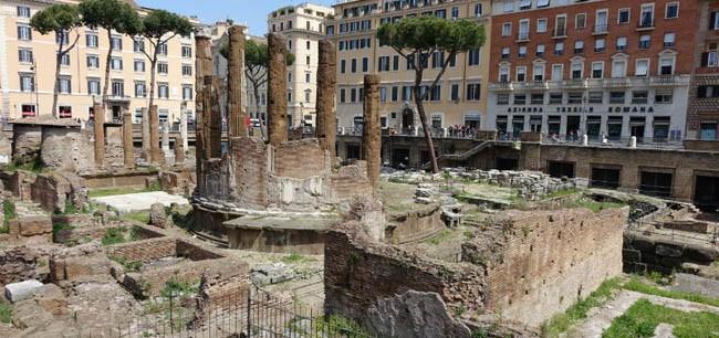 largo argentina visitar roma gratis