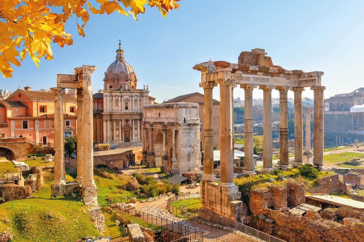El clima en Roma durante el otoño