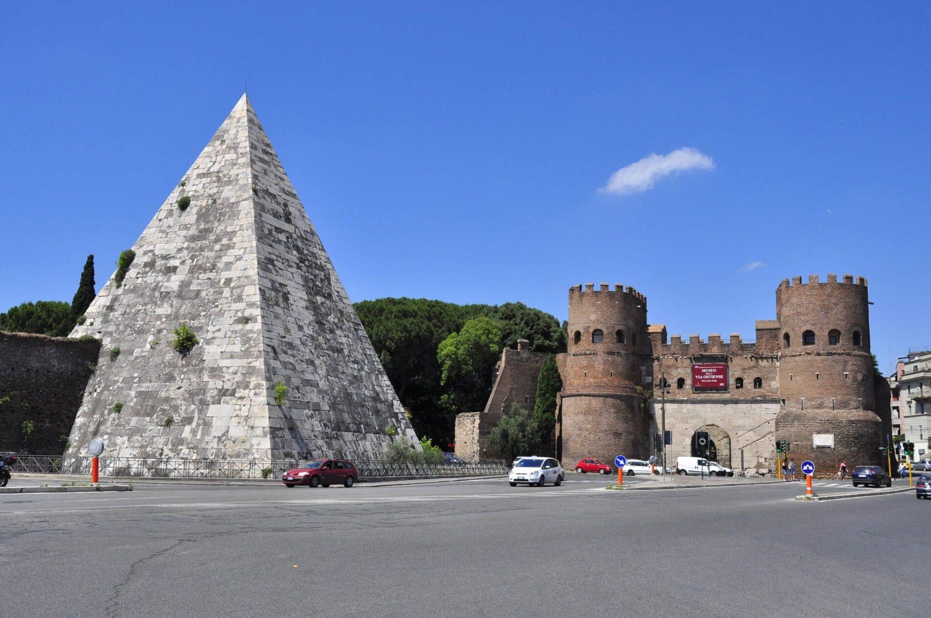 Testaccio Piramide Cestia