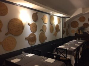 restaurante cerca vaticano la Soffitta Renovatio