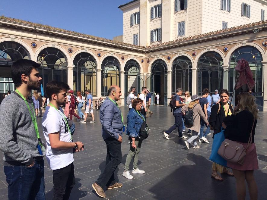 visita museos vaticanos patio