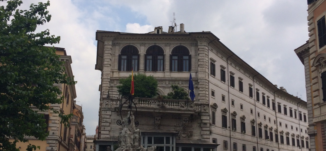 españa en roma palacio borghese