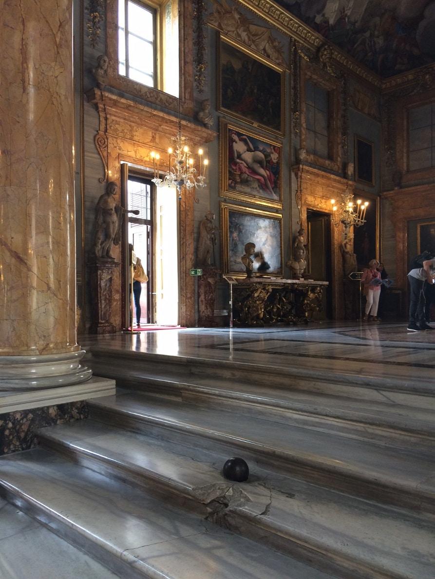 palacio colonna bala cañon