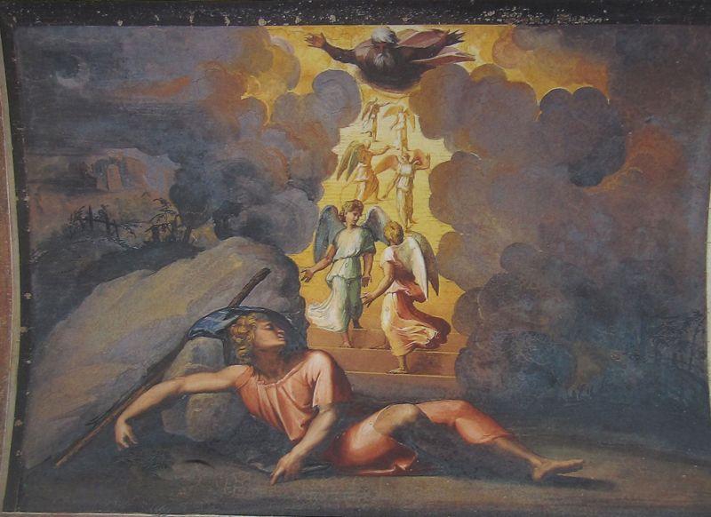 sueño jacob loggia vaticano pintores españoles en roma