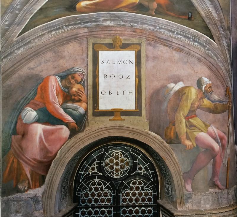 booz capilla sixtina