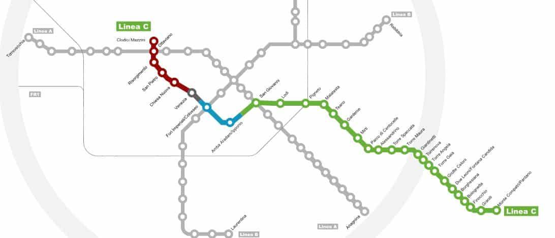 metro roma linea c