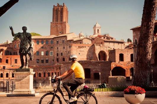 Tour en bicicleta por el centro de Roma