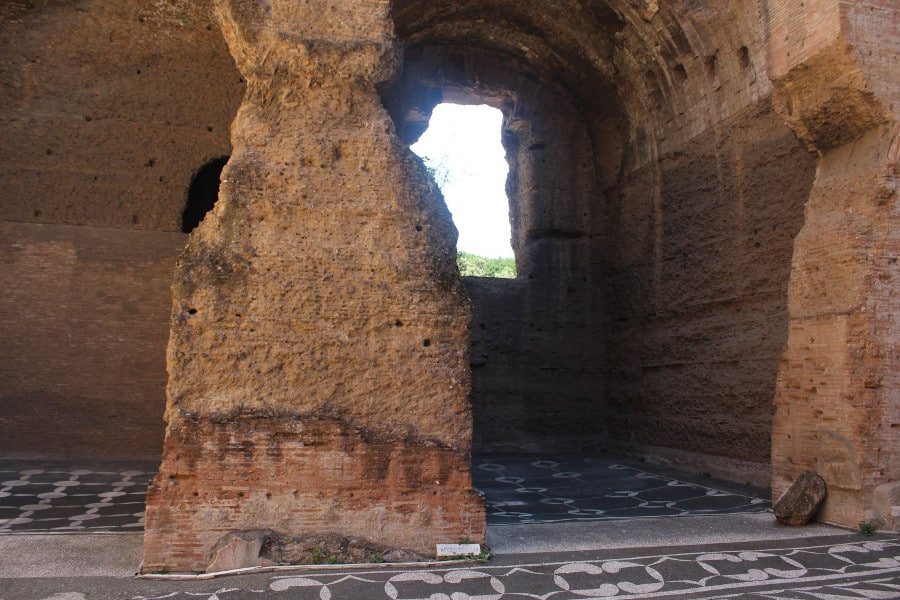 termas caracalla natatio