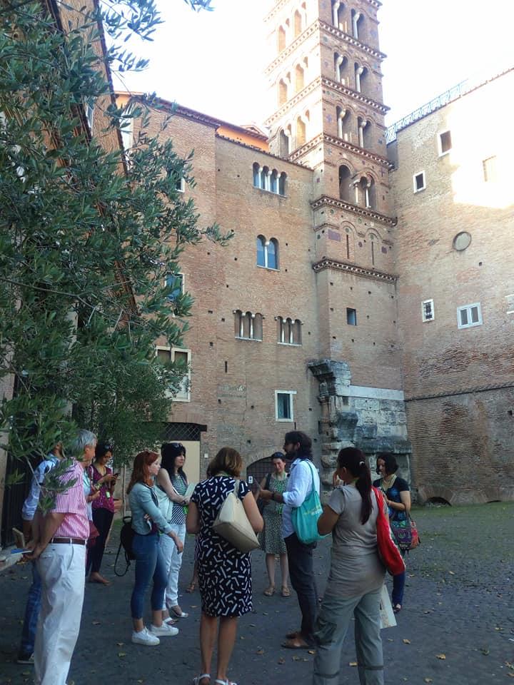 visita literaria roma atardecer