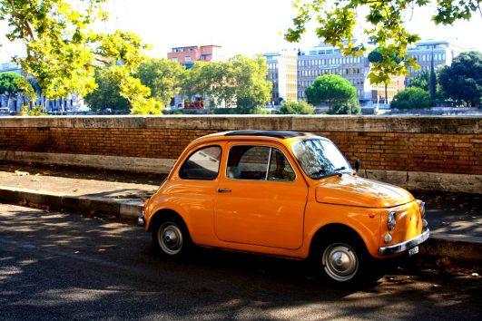 Tour en Fiat 500 por Roma