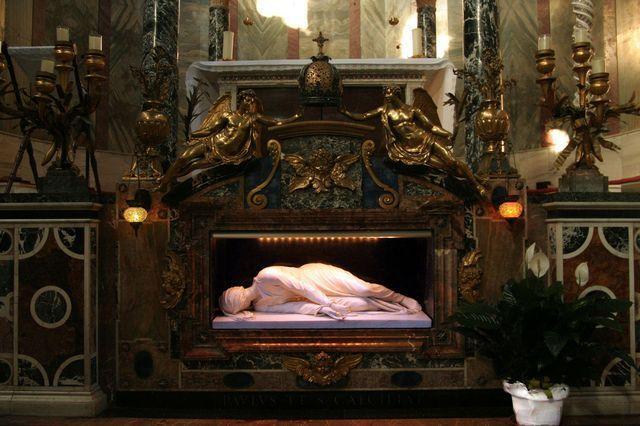 Santa Cecilia Trastevere stefano maderno