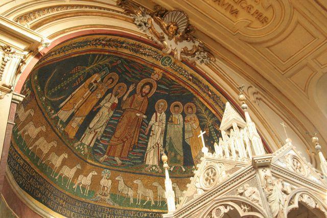 Santa Cecilia Trastevere abside