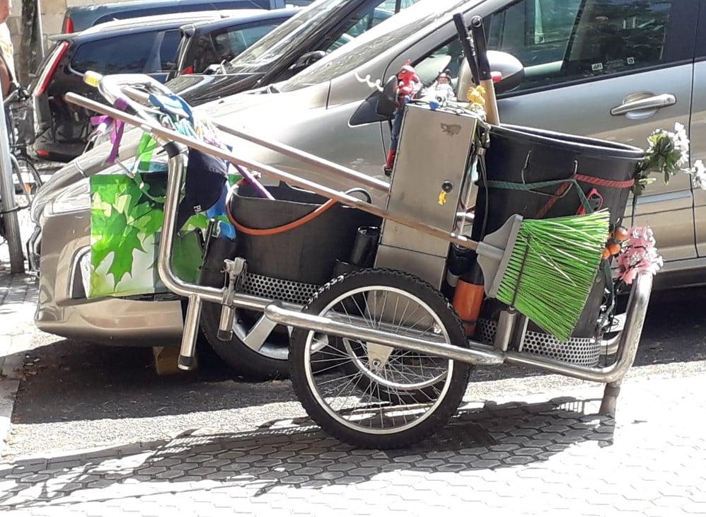 carrito limpieza