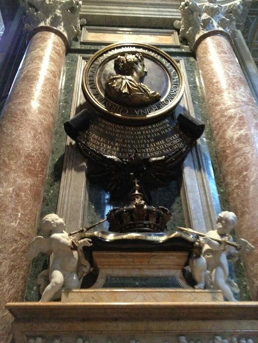 tumba cristina suecia san pedro