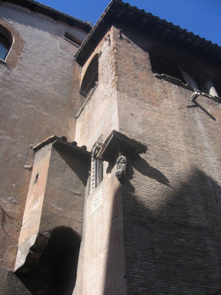 Trastevere casas medievales roma