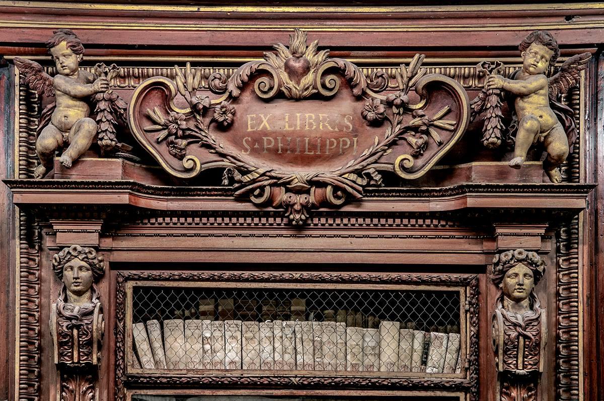 biblioteca vallicelliana roma visita roma literaria