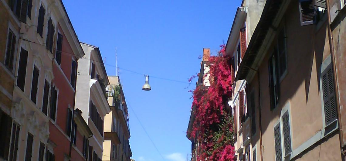 borgo pio cerca del Vaticano barrios roma