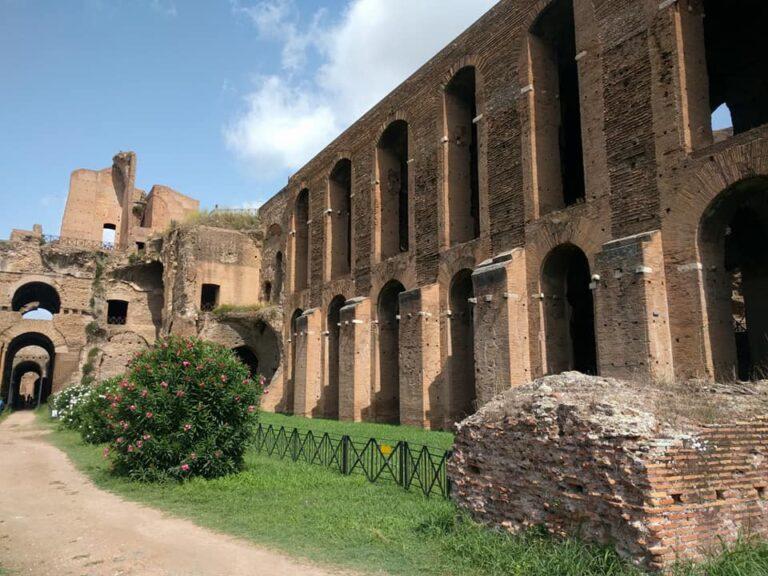 colina del palatino en Roma