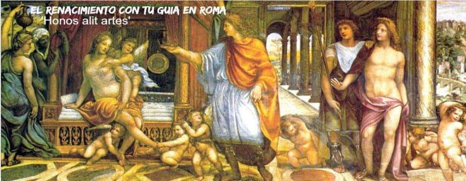 renacimiento en roma villa farnesina