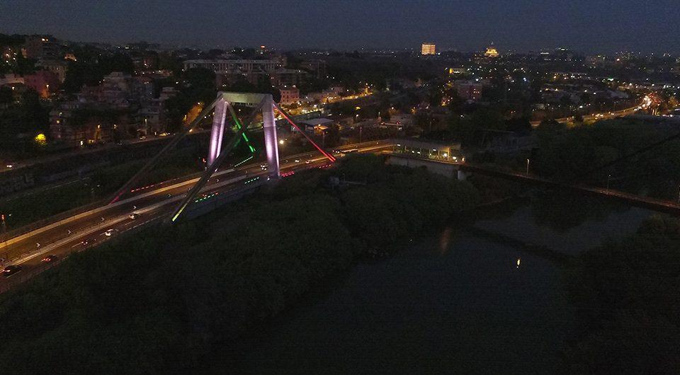Roma Fiumicino Ponte Morandi