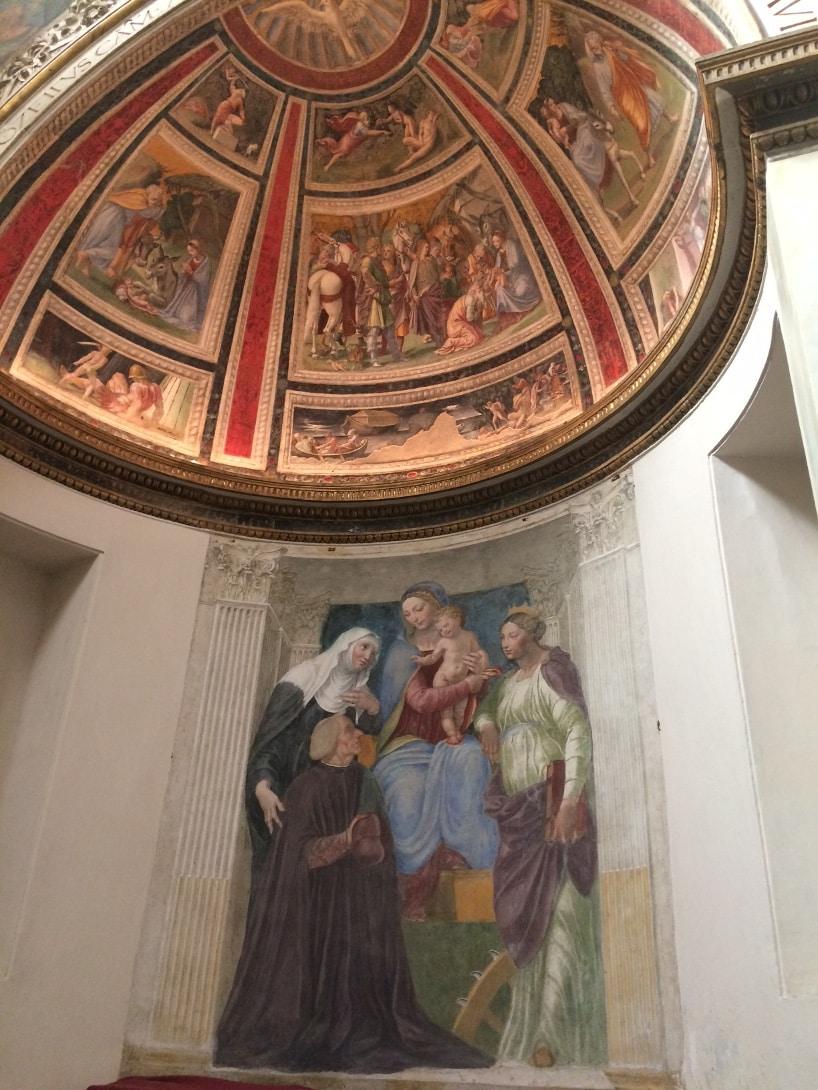 capilla ponzetti santa maria de la paz