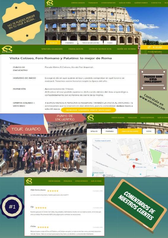 infografia tour coliseo