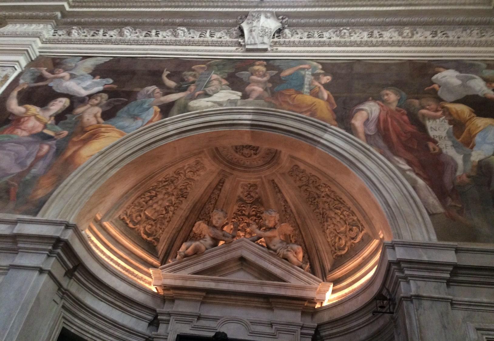 sibilas capilla chigi santa maria della pace