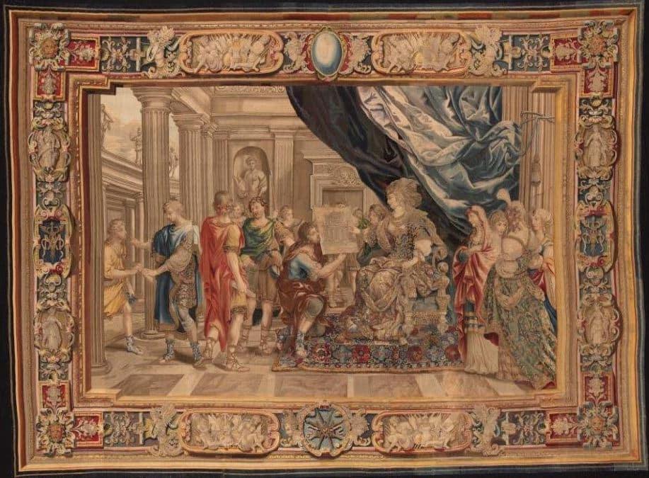 tapiz artemisia palacio colonna