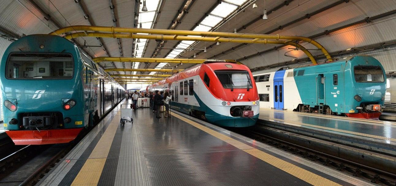 tren aeropuerto Fiumicino roma