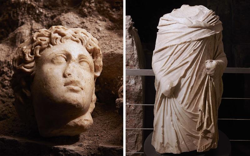 vicus caprarius excavaciones roma ciudad del agua