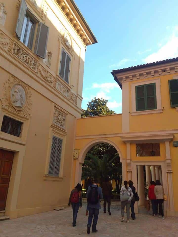 Pintores Nazarenos en villa Giustiniani Massimo