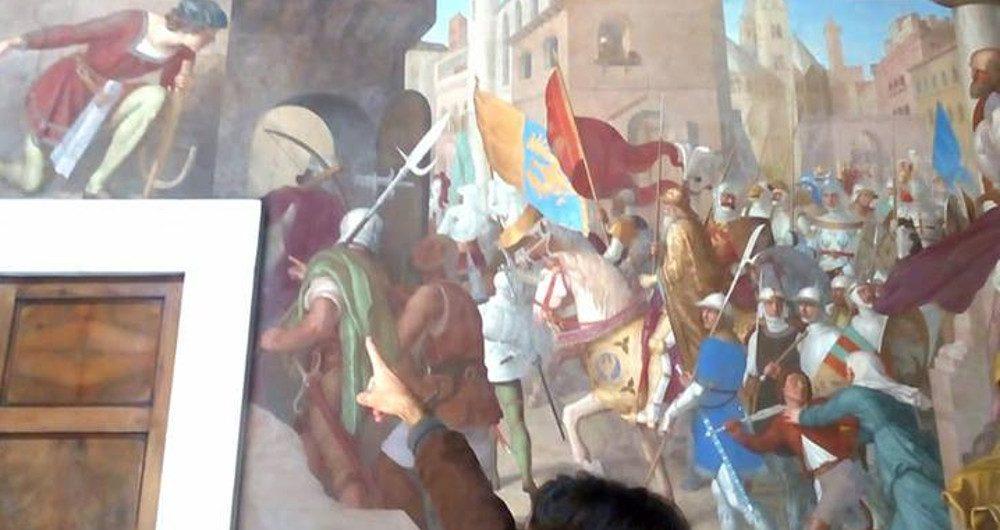 visita guiada villa giustiniani frescos orlando furioso