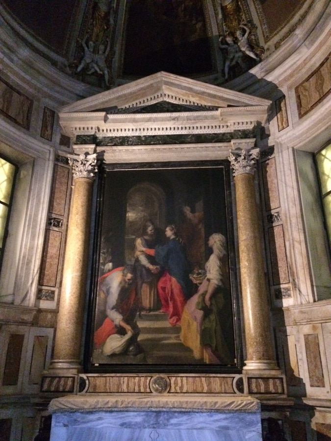 capilla visitacion santa maria vallicella